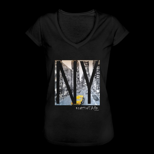 TIME SQUARE - Frauen Vintage T-Shirt