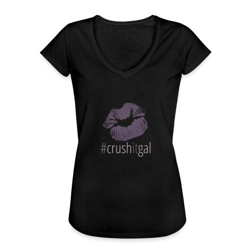 #crushitgal - Women's Vintage T-Shirt