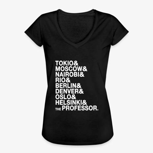 Casa di Carta - Donna Canottiera - Maglietta vintage donna