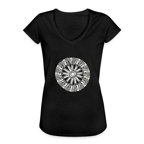zuiger rol - Vrouwen Vintage T-shirt