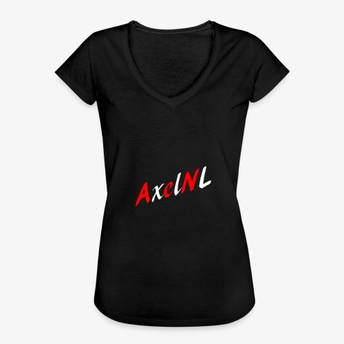 AxelNL - ROOD - Vrouwen Vintage T-shirt
