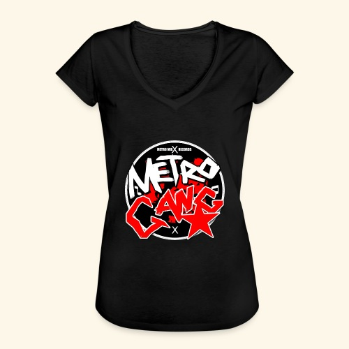 METRO GANG LIFESTYLE - Women's Vintage T-Shirt