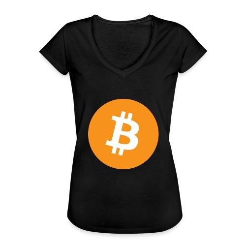 Bitcoin - Women's Vintage T-Shirt
