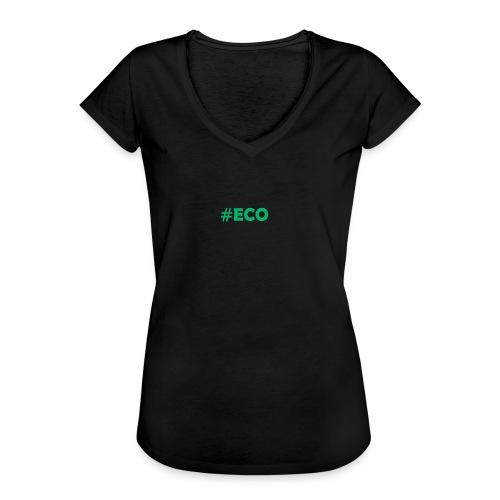 #ECO Blue-Green - Frauen Vintage T-Shirt