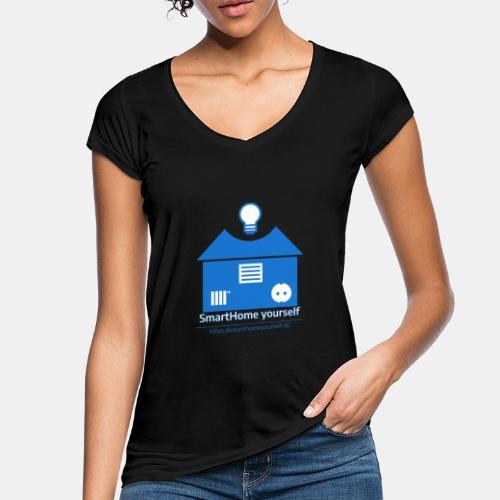 SmartHome yourself Logo Groß - Frauen Vintage T-Shirt