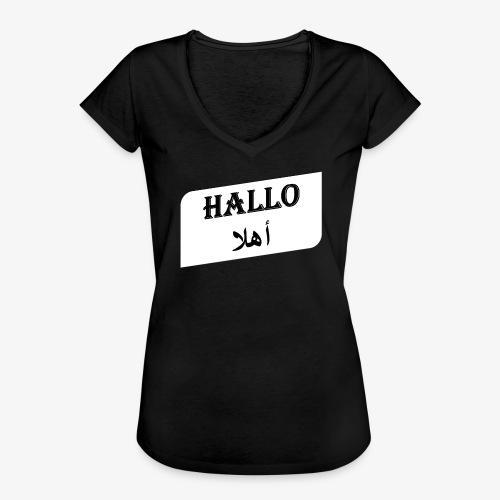 Hallo - Syrisch - Frauen Vintage T-Shirt