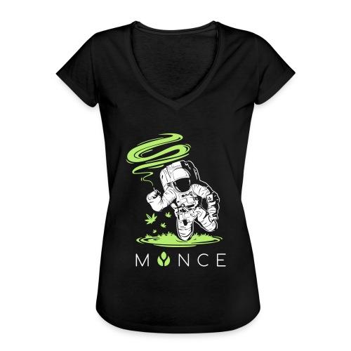 MYNCELUV – Astronaut T-Shirt - Frauen Vintage T-Shirt