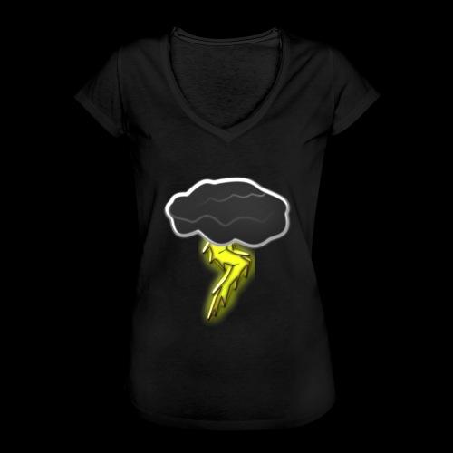 Blitzschlag - Frauen Vintage T-Shirt