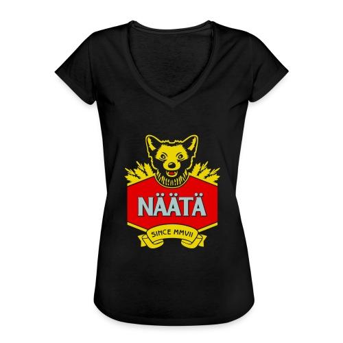 Näätä - Naisten vintage t-paita
