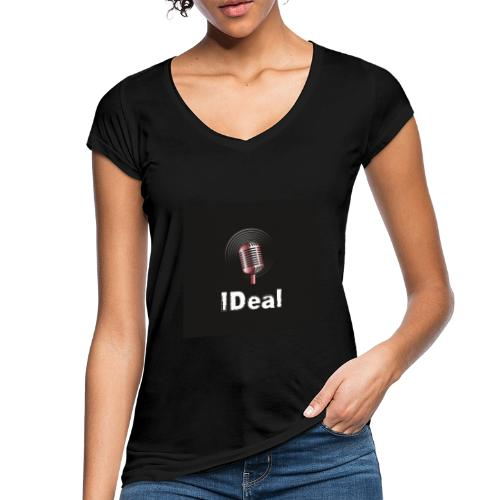 Music by IDeal - Vintage-T-shirt dam