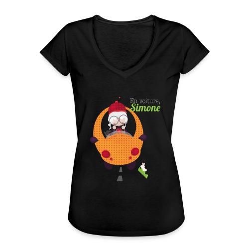 AUTOSIMONE - T-shirt vintage Femme