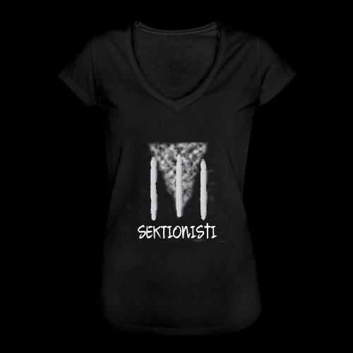 sektionisti 1 - Naisten vintage t-paita