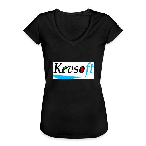 Kevsoft - Women's Vintage T-Shirt
