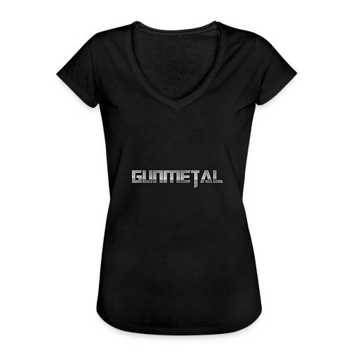 Gunmetal - Women's Vintage T-Shirt