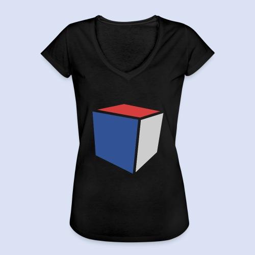 Cube Minimaliste - T-shirt vintage Femme