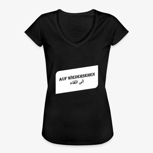 auf Wiedersehen - Syrisch - Frauen Vintage T-Shirt