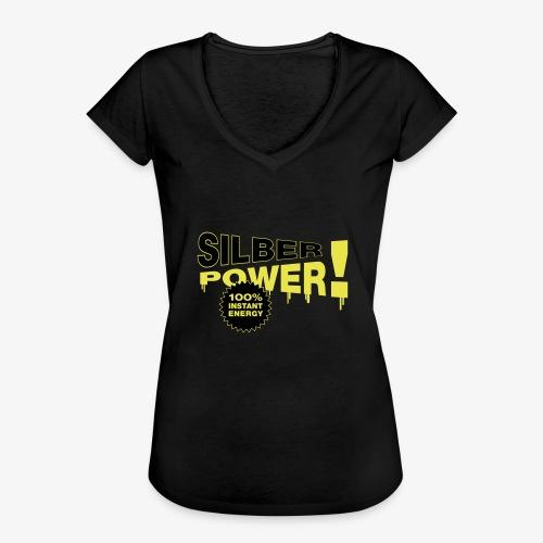 SilberPower! - Dame vintage T-shirt