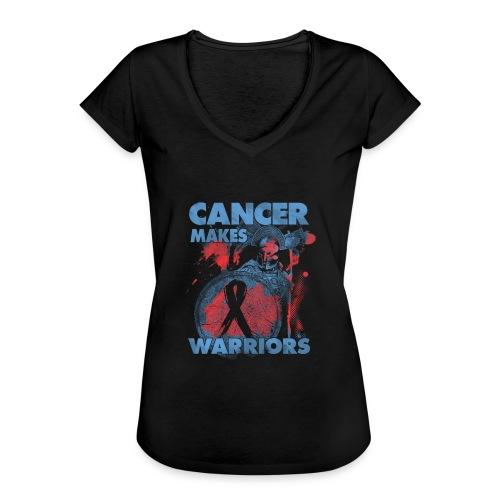 cancer makes warriors - Women's Vintage T-Shirt