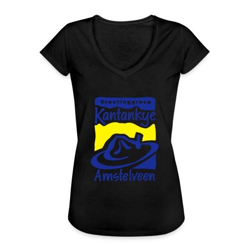 logo simpel 2 - Vrouwen Vintage T-shirt