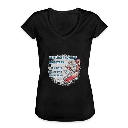 TYÖKALU todelliselle ammattilaisille, Tekstiilit.. - Naisten vintage t-paita