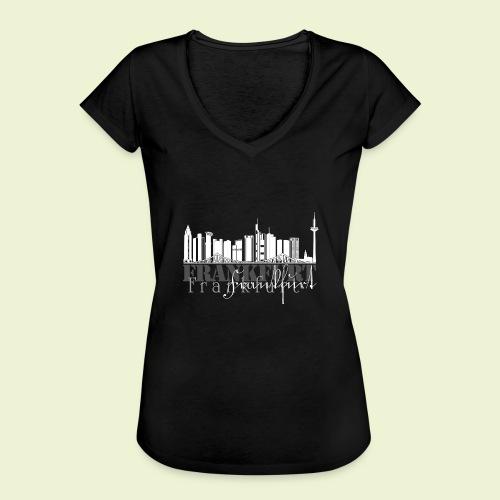 FFM - Frankfurt Skyline - Frauen Vintage T-Shirt
