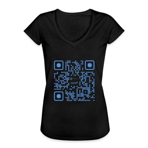 QR Maidsafe.net - Women's Vintage T-Shirt