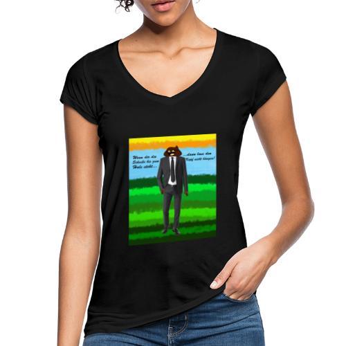 scheiß design - Frauen Vintage T-Shirt