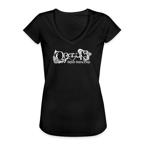 dragunlogo - Naisten vintage t-paita