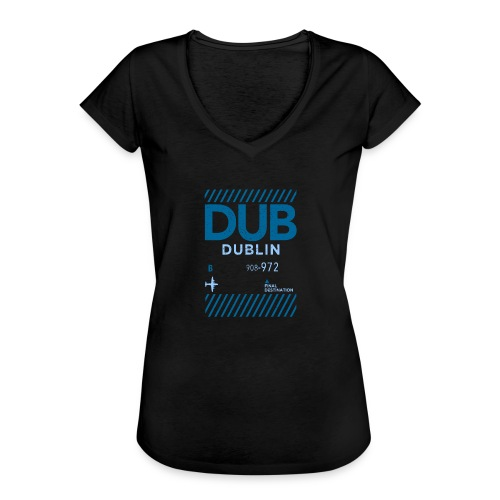 Dublin Ireland Travel - Women's Vintage T-Shirt