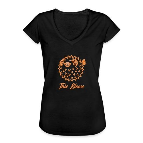 puffer - Women's Vintage T-Shirt