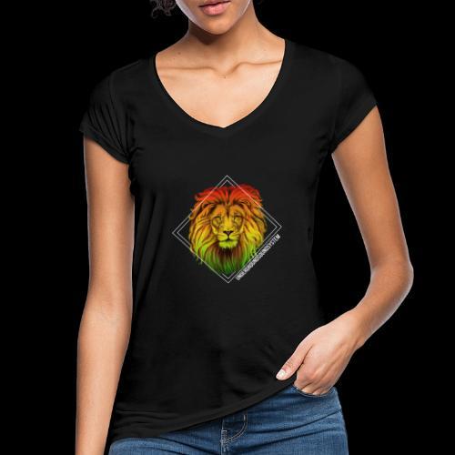 LION HEAD - UNDERGROUNDSOUNDSYSTEM - Frauen Vintage T-Shirt