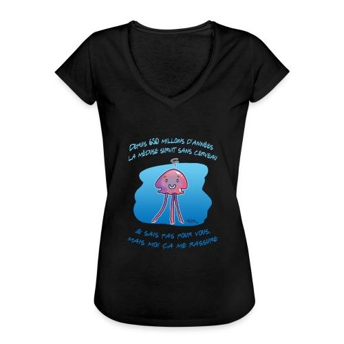 Meduse - T-shirt vintage Femme