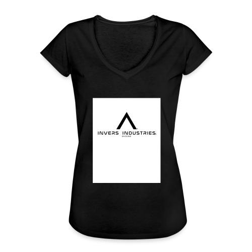 Invers Industries Full White - Women's Vintage T-Shirt