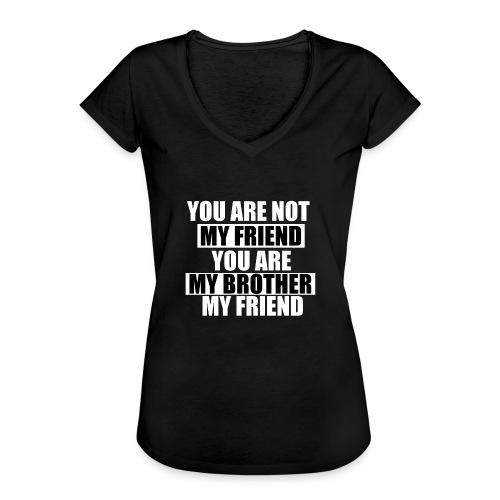 my friend - T-shirt vintage Femme