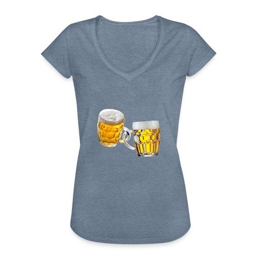 Boccali di birra - Maglietta vintage donna