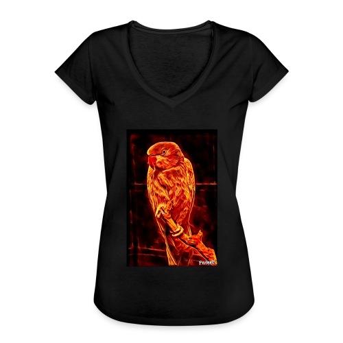 Bird in flames - Naisten vintage t-paita
