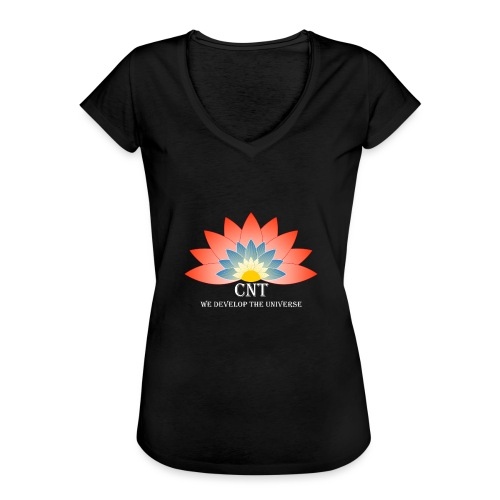 Support Renewable Energy with CNT to live green! - Women's Vintage T-Shirt