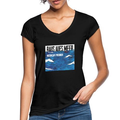 Raus aufs Meer quadratisch - Frauen Vintage T-Shirt