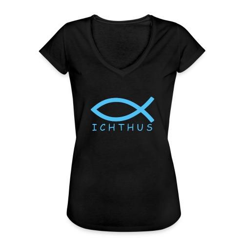 Ichthus - Frauen Vintage T-Shirt