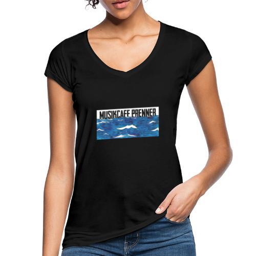 Musikcafe Prenner Schriftzug - Frauen Vintage T-Shirt
