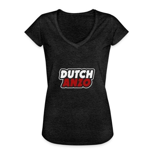 dutchanzo - Vrouwen Vintage T-shirt