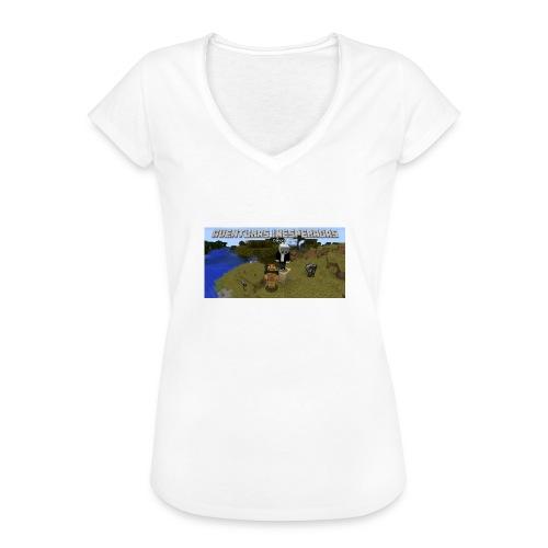 minecraft - Women's Vintage T-Shirt