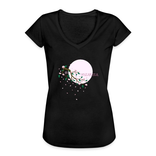 Cherry Blossom Festval Full Moon 1 - Frauen Vintage T-Shirt