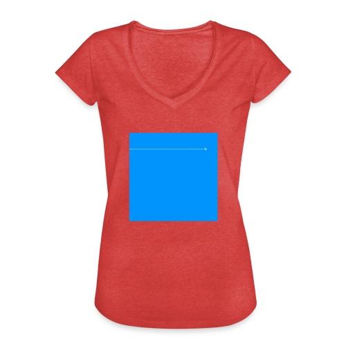 sklyline blue version - T-shirt vintage Femme