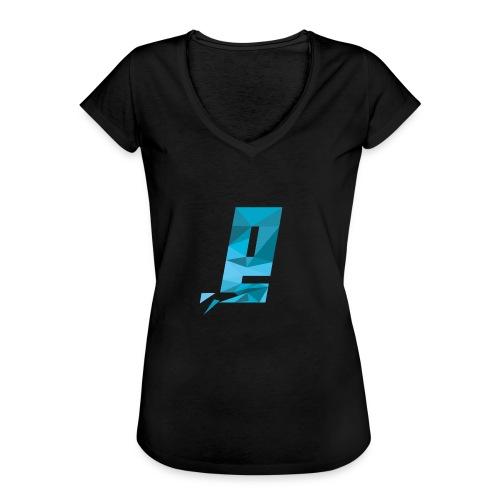 Eventuell Logo small - Shirt White - Frauen Vintage T-Shirt