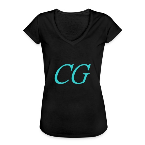 CG - T-shirt vintage Femme