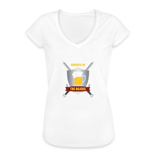 Knights of The Bajers - Dame vintage T-shirt