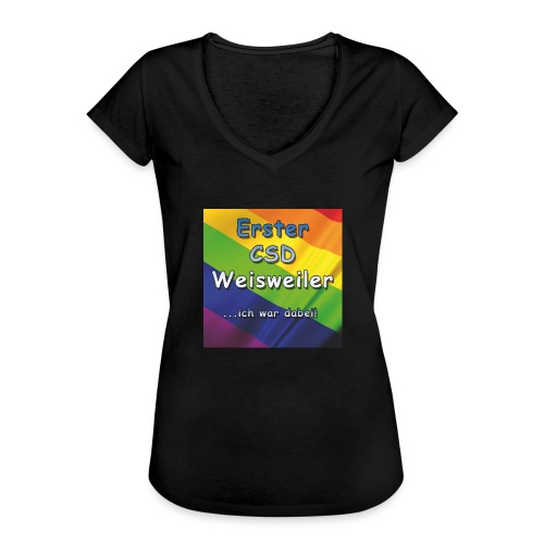 Erster CSD Weisweiler - Frauen Vintage T-Shirt