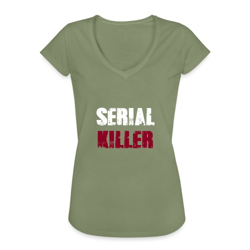 Serial Killer - Frauen Vintage T-Shirt