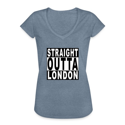 STRAIGHT OUTTA LONDON - Women's Vintage T-Shirt